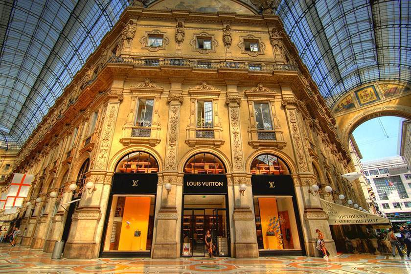 Shopping hotel cavour for Hotel cavour milano