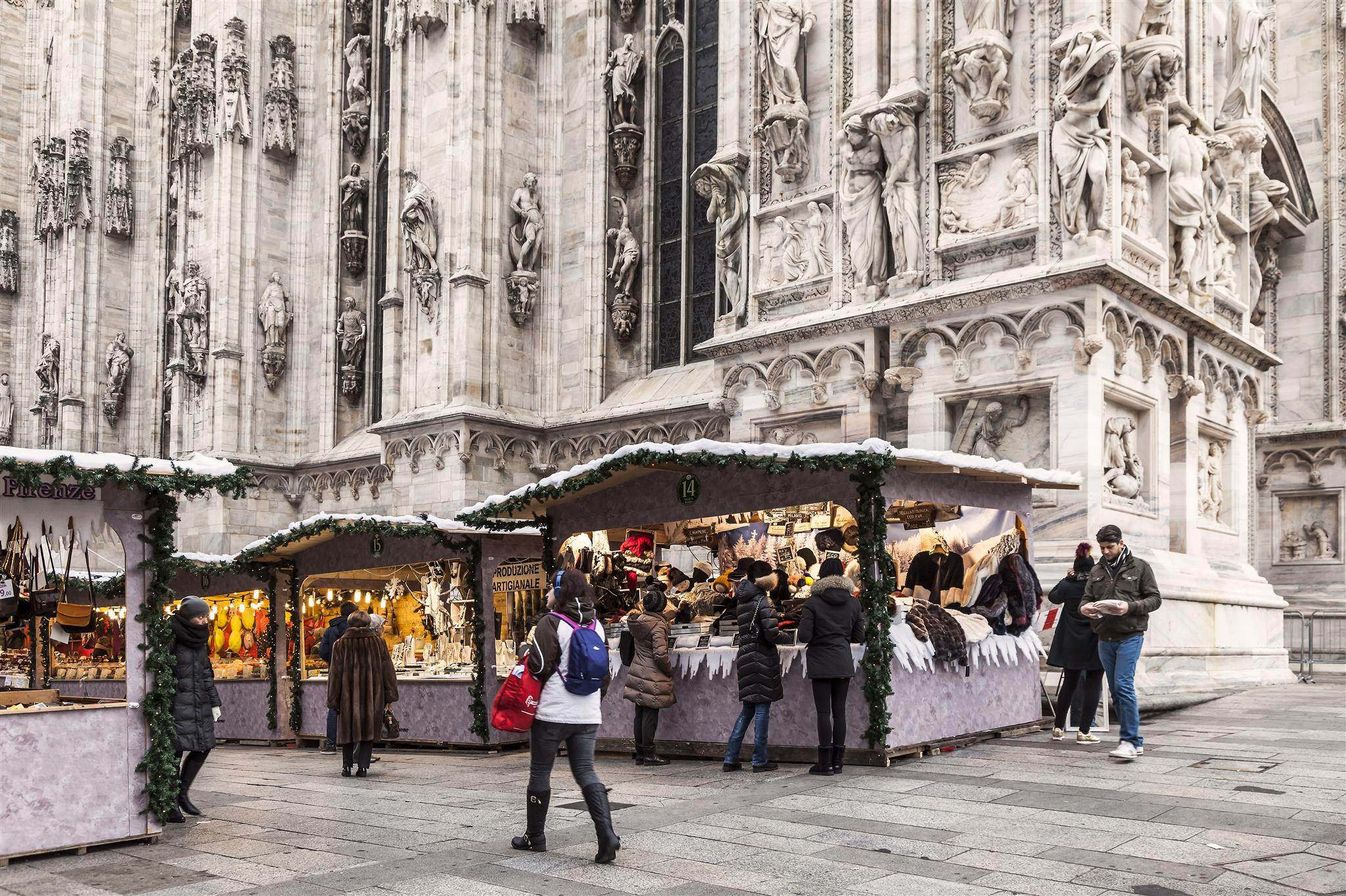 Christmas Markets In Milan Hotel Cavour